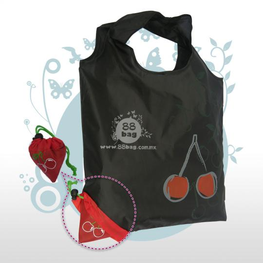 Bolsa ecológica publicitarias Fruit and cute bag cereza