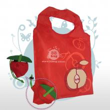 Bolsa ecológica publicitarias Fruit and cute bag manzana