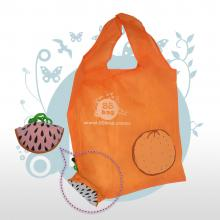 Bolsa ecológica publicitarias Fruit and cute bag naranja